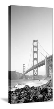 Usa, California, San Francisco, Golden Gate Bridge--Stretched Canvas Print