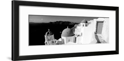 Church in a City, Santorini, Cyclades Islands, Greece--Framed Photographic Print