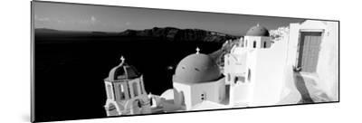 Church in a City, Santorini, Cyclades Islands, Greece--Mounted Photographic Print