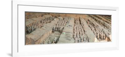 Terracotta Warriors and Horses, Xi'An, Shaanxi Province, China--Framed Photographic Print
