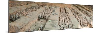 Terracotta Warriors and Horses, Xi'An, Shaanxi Province, China--Mounted Photographic Print