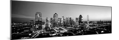 Night, Dallas, Texas, USA--Mounted Photographic Print