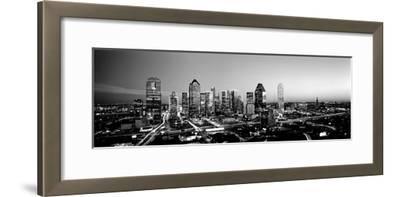 Night, Dallas, Texas, USA--Framed Photographic Print