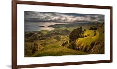 The Table in Quiraing at Trotternish Ridge, Isle of Skye, Scotland--Framed Premium Photographic Print