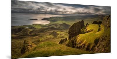 The Table in Quiraing at Trotternish Ridge, Isle of Skye, Scotland--Mounted Premium Photographic Print