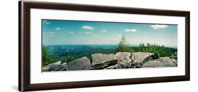 View from the Pinnacle of the Appalachian Trail, Blue Mountain, Appalachian Mountains--Framed Photographic Print