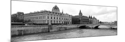 Pont Au Change over Seine River, Palais De Justice, La Conciergerie, Paris, Ile-De-France, France--Mounted Photographic Print