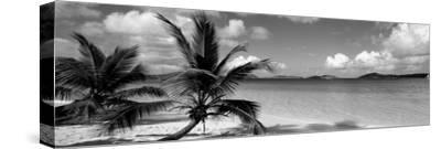 Salomon Beach Us Virgin Islands--Stretched Canvas Print