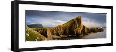 View of Neist Point Peninsula, Isle of Skye, Scotland--Framed Photographic Print