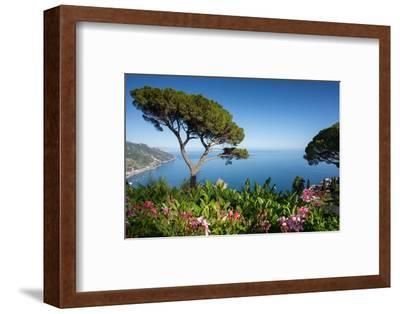 Villa Rufolo, Ravello, Costiera Amalfitana (Amalfi Coast), UNESCO World Heritage Site, Campania-Frank Fell-Framed Photographic Print