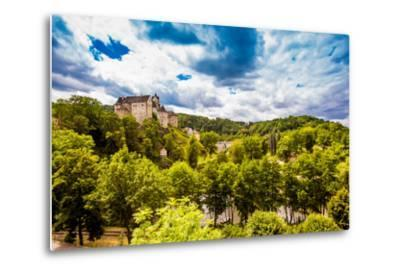 View of Loket Castle in the Countryside of the West Bohemian Spa Triangle Outside of Karlovy Vary-Laura Grier-Metal Print