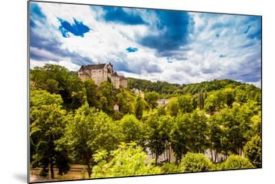 View of Loket Castle in the Countryside of the West Bohemian Spa Triangle Outside of Karlovy Vary-Laura Grier-Mounted Photographic Print