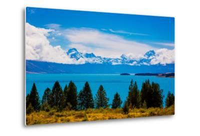 Glacier Lake, South Island, New Zealand, Pacific-Laura Grier-Metal Print