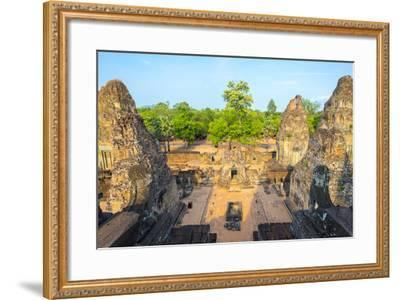 Pre Rup (Prae Roup) Temple Ruins, Angkor Archaeological Park, UNESCO World Heritage Site-Jason Langley-Framed Photographic Print