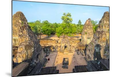 Pre Rup (Prae Roup) Temple Ruins, Angkor Archaeological Park, UNESCO World Heritage Site-Jason Langley-Mounted Photographic Print