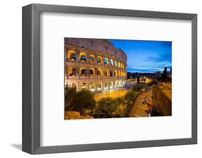 The Colosseum, UNESCO World Heritage Site, Rome, Lazio, Italy, Europe-Frank Fell-Framed Photographic Print