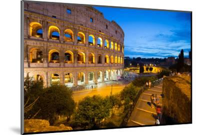 The Colosseum, UNESCO World Heritage Site, Rome, Lazio, Italy, Europe-Frank Fell-Mounted Photographic Print