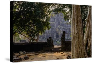 Temple of Prasat Thom (Prasat Kompeng), Dated 9th to 12th Century, Temple Complex of Koh Ker-Nathalie Cuvelier-Stretched Canvas Print