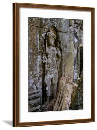 Temple of Prasat Thom (Prasat Kompeng), Dated 9th to 12th Century, Temple Complex of Koh Ker-Nathalie Cuvelier-Framed Photographic Print