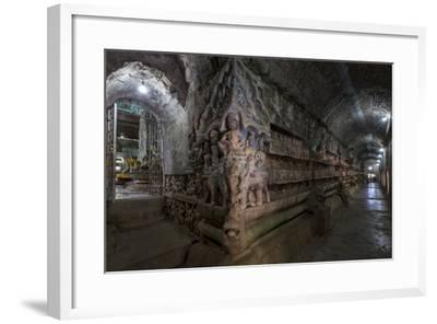 Pagoda of Shittaung, Dated 1535, Mrauk U, Rakhaing State, Myanmar (Burma), Asia-Nathalie Cuvelier-Framed Photographic Print