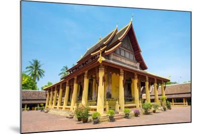 Wat Si Saket (Wat Sisaket) Temple, Vientiane, Laos, Indochina, Southeast Asia, Asia-Jason Langley-Mounted Photographic Print