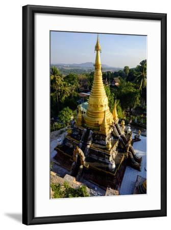 Kyaik Than Lan Pagoda, Mawlamyine (Moulmein), Myanmar (Burma), Asia-Nathalie Cuvelier-Framed Photographic Print