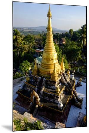 Kyaik Than Lan Pagoda, Mawlamyine (Moulmein), Myanmar (Burma), Asia-Nathalie Cuvelier-Mounted Photographic Print