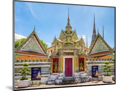 Wat Pho (Temple of the Reclining Buddha), Bangkok, Thailand, Southeast Asia, Asia-Jason Langley-Mounted Photographic Print