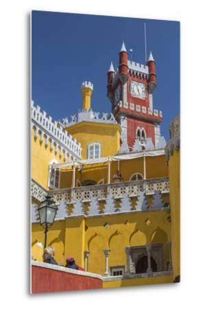 Colors and Decoration of the Romanticist Castle Palacio Da Pena, UNESCO World Heritage Site-Roberto Moiola-Metal Print