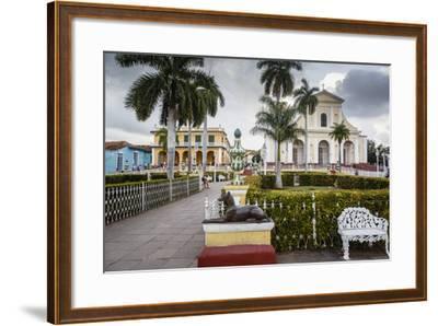 Plaza Mayor, Trinidad, UNESCO World Heritage Site, Sancti Spiritus Province, Cuba-Yadid Levy-Framed Photographic Print