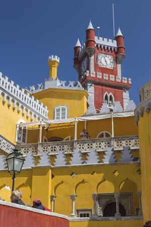 Colors and Decoration of the Romanticist Castle Palacio Da Pena, UNESCO World Heritage Site-Roberto Moiola-Photographic Print