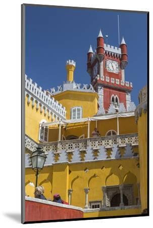 Colors and Decoration of the Romanticist Castle Palacio Da Pena, UNESCO World Heritage Site-Roberto Moiola-Mounted Photographic Print