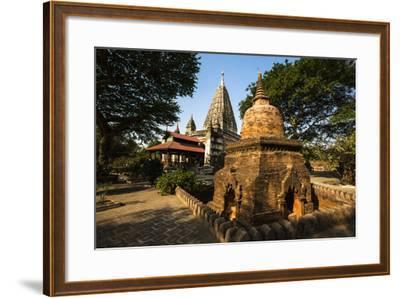The Mahabodhi Temple, a Buddhist Temple Built in the Mid-13th Century, Located in Bagan (Pagan)-Thomas L-Framed Photographic Print