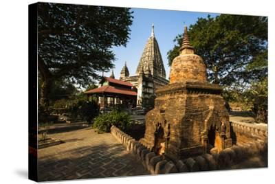 The Mahabodhi Temple, a Buddhist Temple Built in the Mid-13th Century, Located in Bagan (Pagan)-Thomas L-Stretched Canvas Print