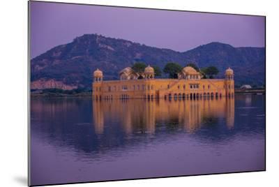 Jal Mahal Floating Lake Palace, Jaipur, Rajasthan, India, Asia-Laura Grier-Mounted Photographic Print