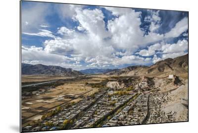 Overview of Kumbum in Gyantse, Tibet, China, Asia-Thomas L-Mounted Photographic Print
