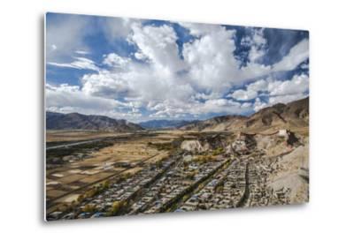 Overview of Kumbum in Gyantse, Tibet, China, Asia-Thomas L-Metal Print