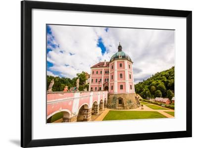 Becov Castle in Karlovy Vary, Bohemia, Czech Republic, Europe-Laura Grier-Framed Photographic Print