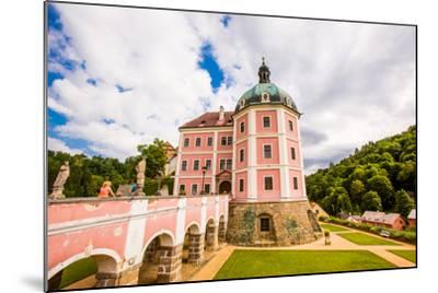 Becov Castle in Karlovy Vary, Bohemia, Czech Republic, Europe-Laura Grier-Mounted Photographic Print