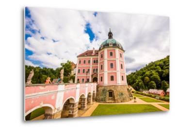 Becov Castle in Karlovy Vary, Bohemia, Czech Republic, Europe-Laura Grier-Metal Print