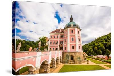 Becov Castle in Karlovy Vary, Bohemia, Czech Republic, Europe-Laura Grier-Stretched Canvas Print