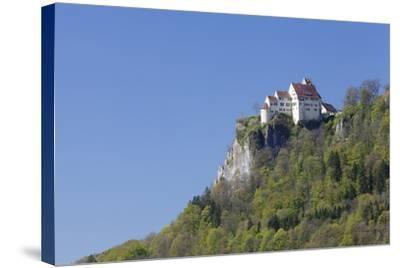 Schloss Werenwag (Werenwag Castle), Hausen an Der Donau, Danube Valley-Markus Lange-Stretched Canvas Print