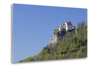 Schloss Werenwag (Werenwag Castle), Hausen an Der Donau, Danube Valley-Markus Lange-Metal Print