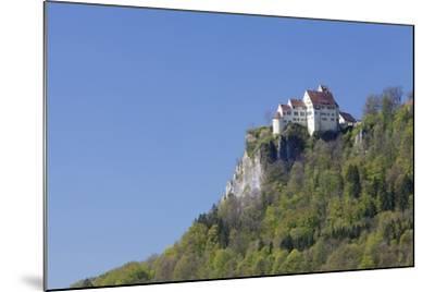 Schloss Werenwag (Werenwag Castle), Hausen an Der Donau, Danube Valley-Markus Lange-Mounted Photographic Print