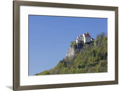 Schloss Werenwag (Werenwag Castle), Hausen an Der Donau, Danube Valley-Markus Lange-Framed Photographic Print