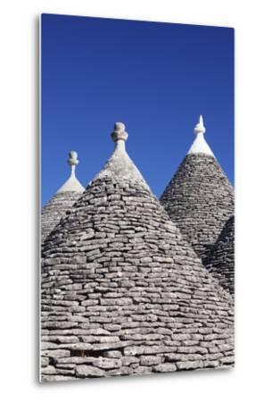 Trulli, Traditional Houses, Rione Monti Area, Alberobello, UNESCO World Heritage Site-Markus Lange-Metal Print