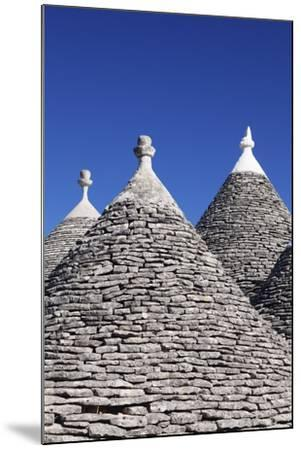 Trulli, Traditional Houses, Rione Monti Area, Alberobello, UNESCO World Heritage Site-Markus Lange-Mounted Photographic Print