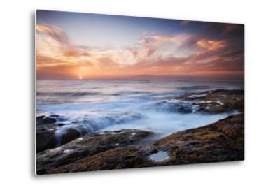 Sunset, Western Shore of Tenerife in the Canary Islands, Spain, Atlantic, Europe-Garry Ridsdale-Metal Print