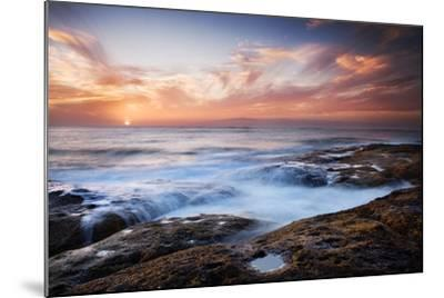 Sunset, Western Shore of Tenerife in the Canary Islands, Spain, Atlantic, Europe-Garry Ridsdale-Mounted Photographic Print