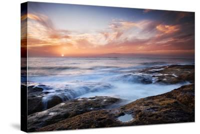 Sunset, Western Shore of Tenerife in the Canary Islands, Spain, Atlantic, Europe-Garry Ridsdale-Stretched Canvas Print